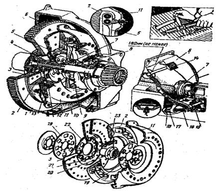 Сцепление автомобиля ЗиЛ-131