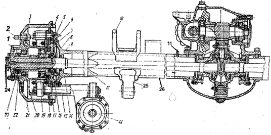 автомобиля КамАЗ-4310: 1